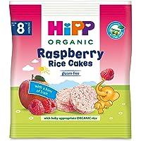 Hipp Organic Rice Cakes Raspberry, 30 g