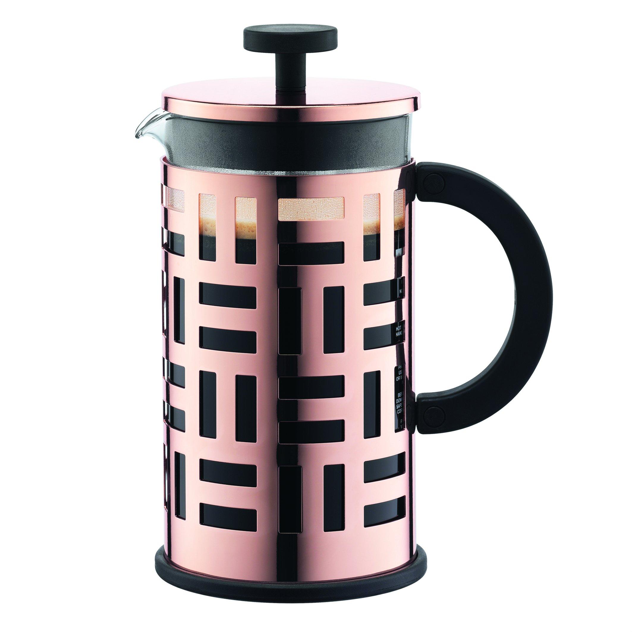 Bodum 8 Cup Eileen Coffee Maker, 34 oz, Copper