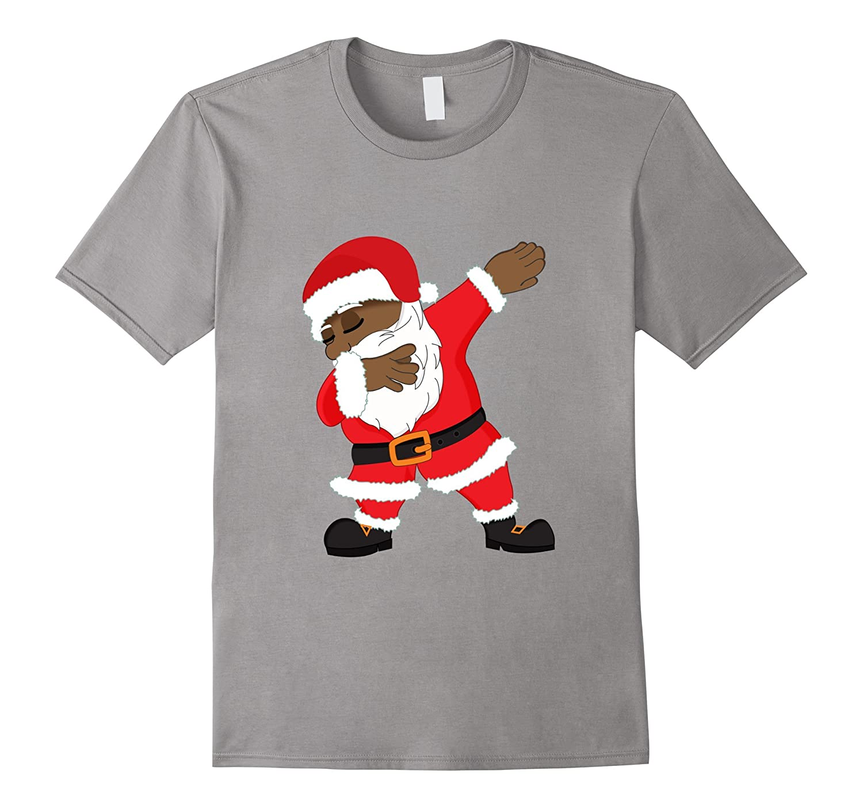 Dabbing Santa Shirt   Funny Christmas Dab T-Shirt-ANZ