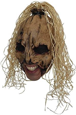 Máscara de espantapájaros adulto Halloween