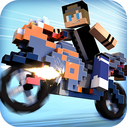 (Blocky Motorbikes - Crazy GP Motorbike Racing Game)