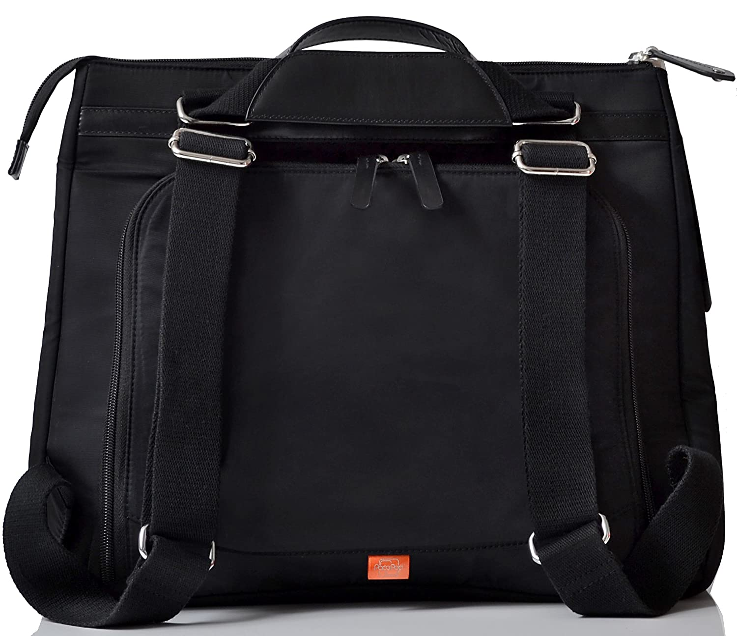 4465188fa909 Amazon.com   PacaPod Gladstone Black Designer Baby Changing Bag - Luxury  Convertible Messenger and Backpack 3 in 1 Organising System   Baby