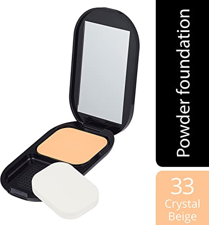 Max factor – Facefinity compact foundation, número 033, cristal, color beige, 10 g: Amazon.es: Belleza