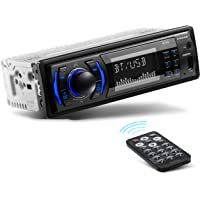 BOSS Audio Systems 616UAB Multimedia Car Stereo - Single Din LCD Bluetooth Audio and Hands-Free Calling, Built-in…