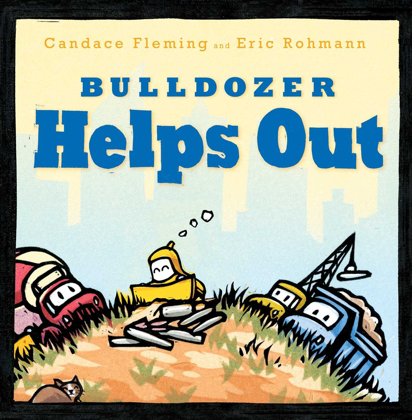 Bulldozer Helps Out Books product image