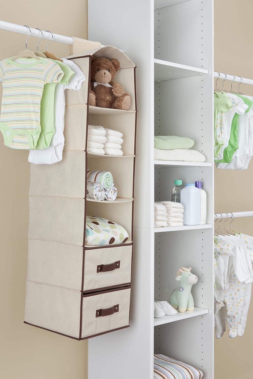Barely Pink Delta Children Complete Nursery Organization 12-Piece Set