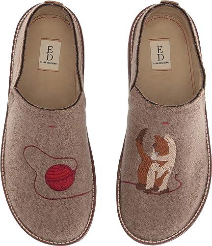 b01b149405fc ED Ellen DeGeneres Women's Tillie Slipper Brindle/Whiskey/Multi 5.5 M ...
