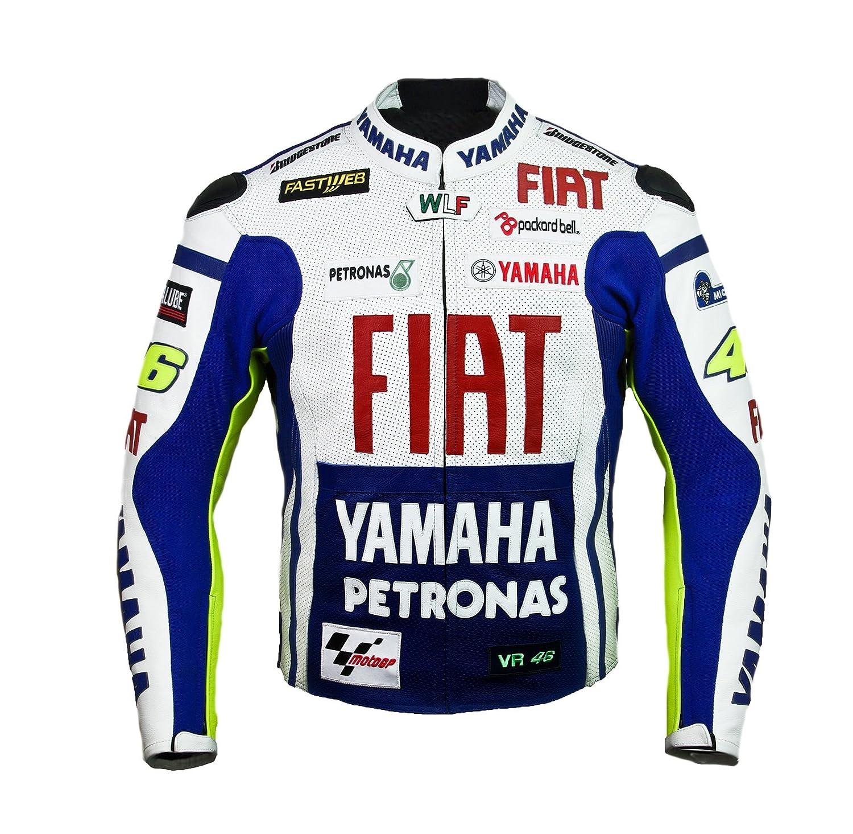 Rossi Yamaha Team Racing Leather Jacket (M (EU50)) Corelli Motogear YFJKT02