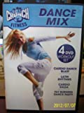 Crunch Fitness Dance Mix 4 DVD Workout set Includes Cardio Blast / Latin Rhythms / Cardio Salsa / Fat Burning Dance Party
