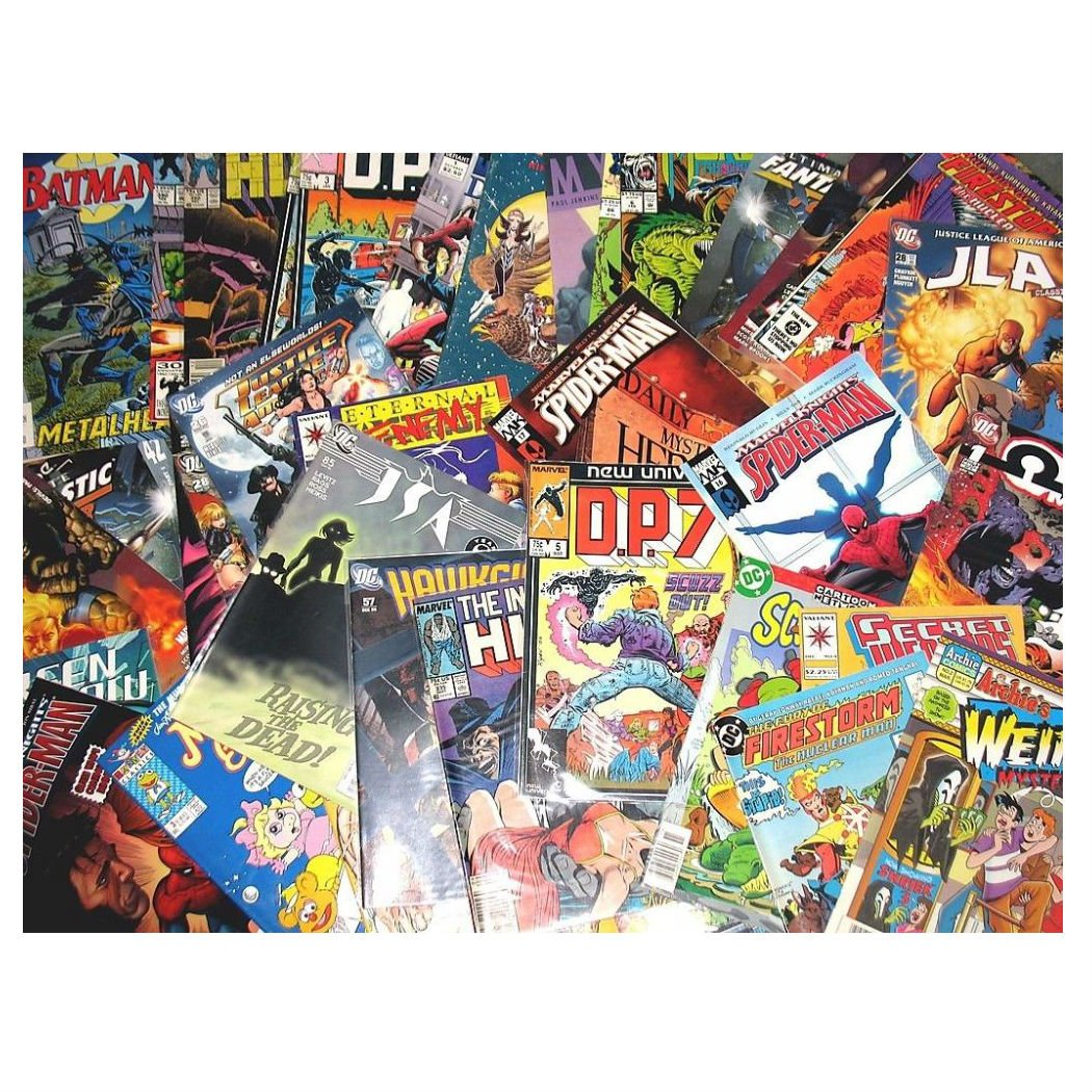 Unbranded Wholesale LOT 25 Comic Books Marvel DC Image IDW Dark Horse + More!