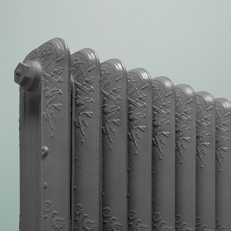 Rust-oleum- Pintura para radiador AE0236400FR de aspecto vintage de hierro fundido gris: Amazon.es: Bricolaje y herramientas