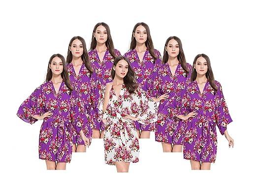 7 Floral Bridesmaids Robes 2fd9e7eb8