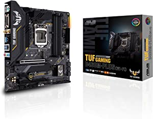 ASUS TUF Gaming B460M-Plus WiFi 6 LGA1200 (Intel 10th Gen) Micro ATX Gaming Motherboard (Intel 1Gb LAN, USB 3.2 gen 1 Front Panel Connector, addressable Gen 2 RGB Header, Aura Sync)
