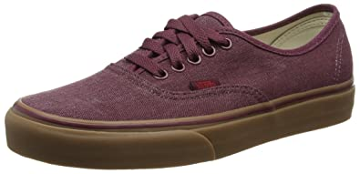 bb9f1c3606 Vans Authentic Mens Brown Canvas Lace Up Sneakers Shoes 6.5