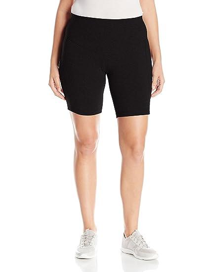 e1e06df1c4e Rainbeau Curves Women s Plus Size Curve Basix Compression Bike Short at  Amazon Women s Clothing store