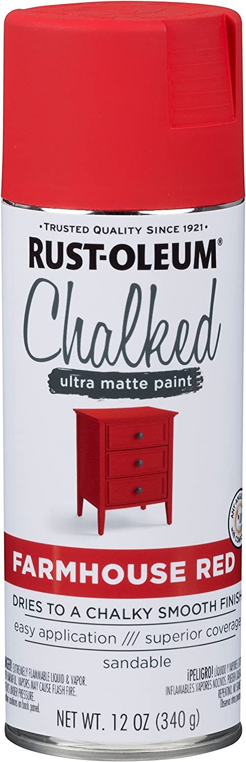 Rust-Oleum Chalked Farmhouse Red 12oz