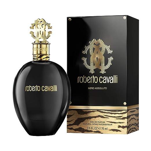 5b9b39f6701f4 Roberto Cavalli Nero Assoluto Eau de Perfum - 75 ml  Amazon.co.uk  Beauty