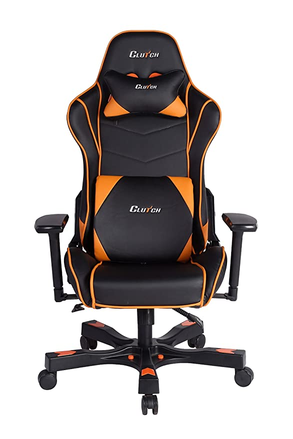 CLUTCH CHAIRZ Crank Series Delta Black/White Gaming Chair