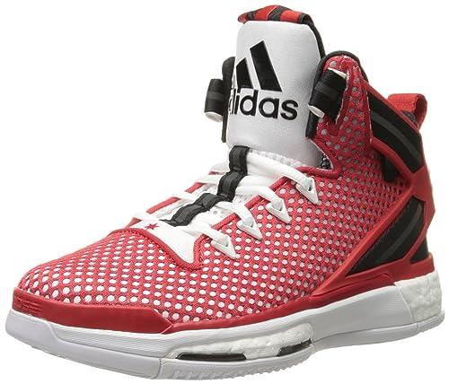 86a41a9716d4c adidas Kids' D Rose 6 Boost J Skate Shoe