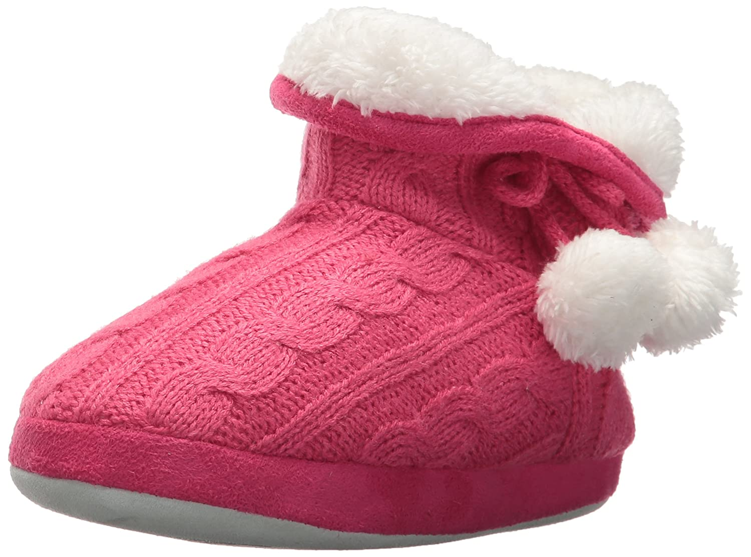 Stride Rite Girls' Cozy Boot Slippers