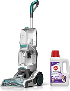 Hoover Smartwash Automatic Carpet Cleaner with Paws & Claws Carpet Cleaning Solution with Stainguard (64 oz), FH52000, AH30925