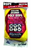 Rope King HBP-38100Y Hollow Braided Poly Rope