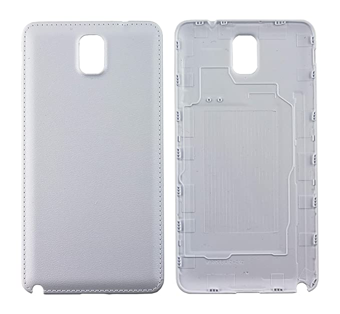 big sale bc98d 5dc6f Nsiucion Samsung Galaxy Note 3 Battery Back Cover, Plain Premium Hard  Plastic Housing Replacement Back Cover Case for Samsung Galaxy Note 3 III  N9000 ...