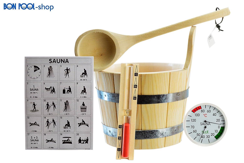 Bon Pool Sauna di set 6 pezzi