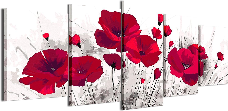 murando Peinture par Num/éro Adulte Kit Corps Palmier Fleurs 40x60 cm DIY Tableau Peindre par Nombre Bricolage pour Enfants Num/érique pour Enfants Cadre Home Decor n-A-1050-d-a