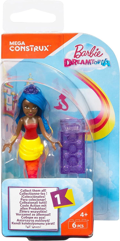 Mega Construx Barbie Rainbow Cove Mermaid Mini Figure Playset