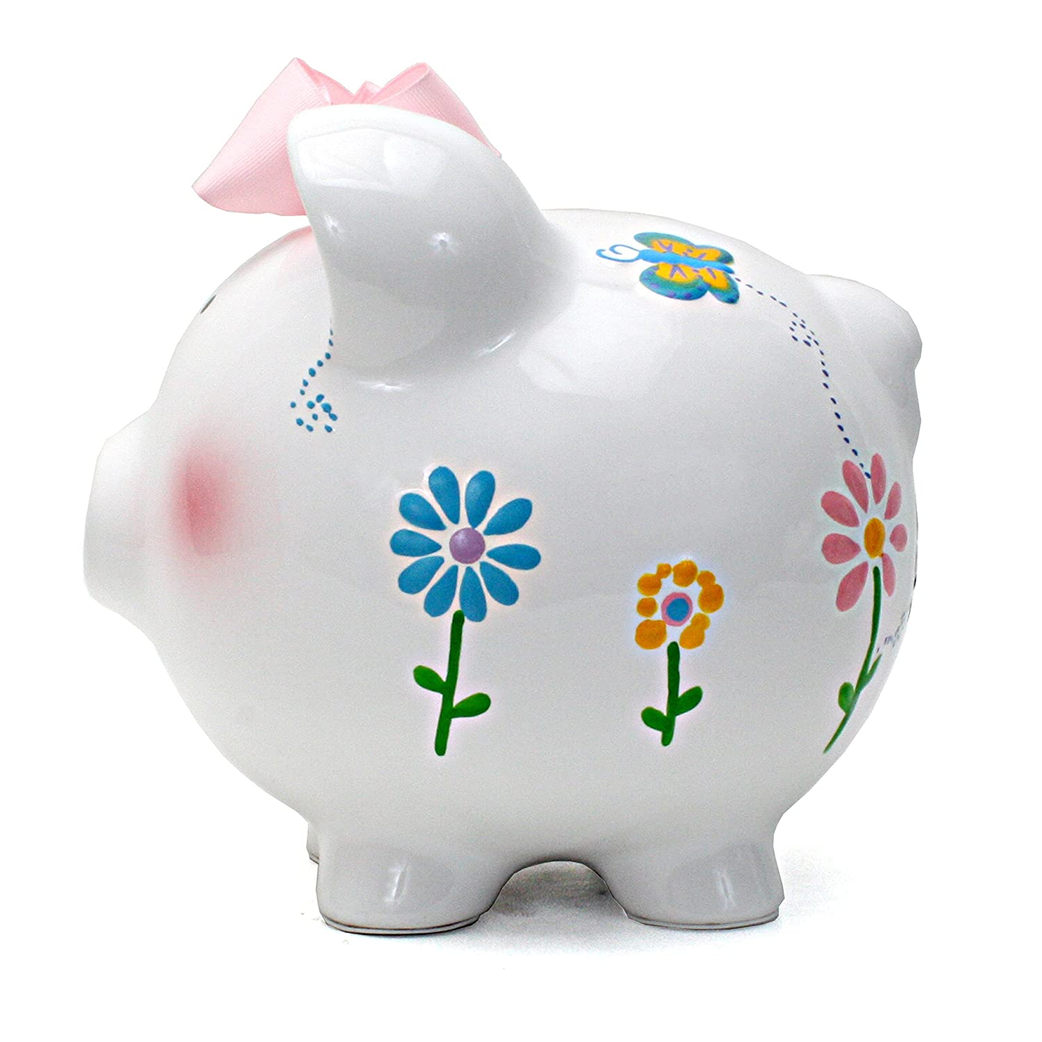 Sprinkle Cupcake Child to Cherish Ceramic Piggy Bank for Girls