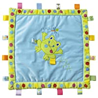 Taggies Cozy Blanket, Spotty Frog (Discontinued by Manufacturer)