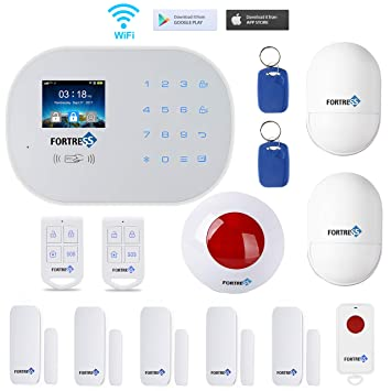 GSM 3G/4G WiFi Security Alarm System-S6 Titan Classic Kit Wireless DIY Home and Business Security System Kit by Fortress Security Store- Easy to ...