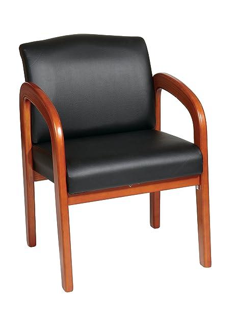 Amazon.com: Roble Medio acabado Visitantes silla (Special ...