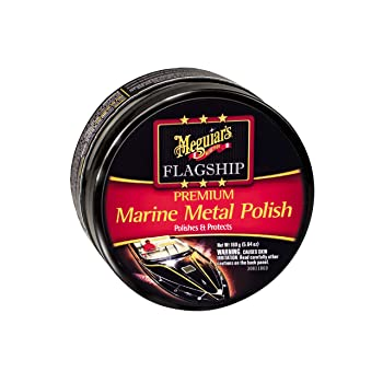 MEGUIAR'S 5.64 oz Cream Stainless Steel Cleaner