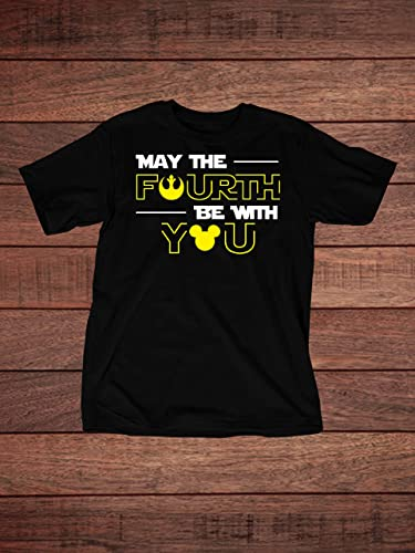 9eaa38675 Amazon.com: May the Fourth Be With You - Star Wars Day on May 4th - Youth T- Shirt: Handmade
