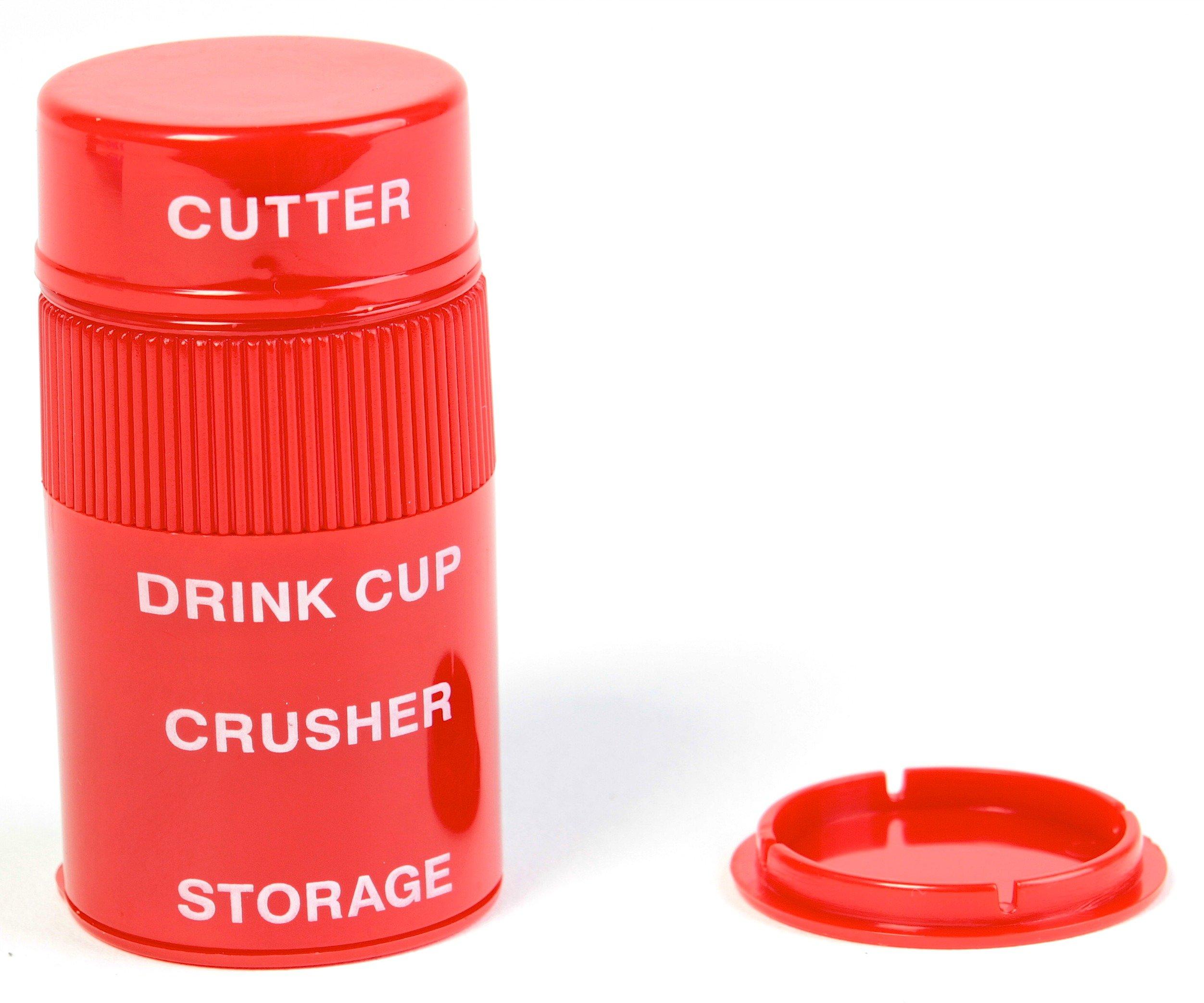Ezy-dose Ultra Fine Cut and Crush Pill Splitter and Crusher, 6-pack