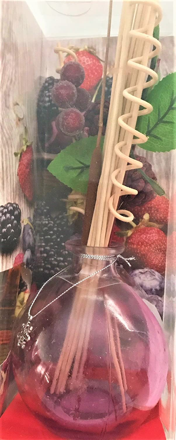 Amazon.com: Fresh Berries Diffuser Difuser Room/Air Freshener in Vase with Decorative Reeds: Home & Kitchen