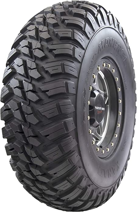SXSs GBC Kanati Mongrel 10-Ply Radial Tire 25x8-12 for Honda UTV