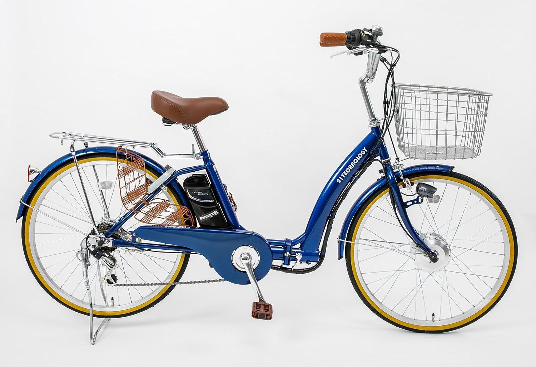 21Technology DA246折りたたみ電動アシスト自転車 24インチ 6段変速 B079Y1CLD4 コバルトブルー コバルトブルー