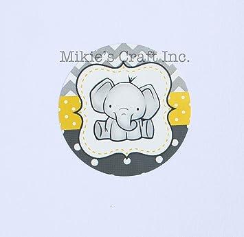 Amazon Com Mikie S Craft Inc Baby Shower Stickers It S A Boy Girl