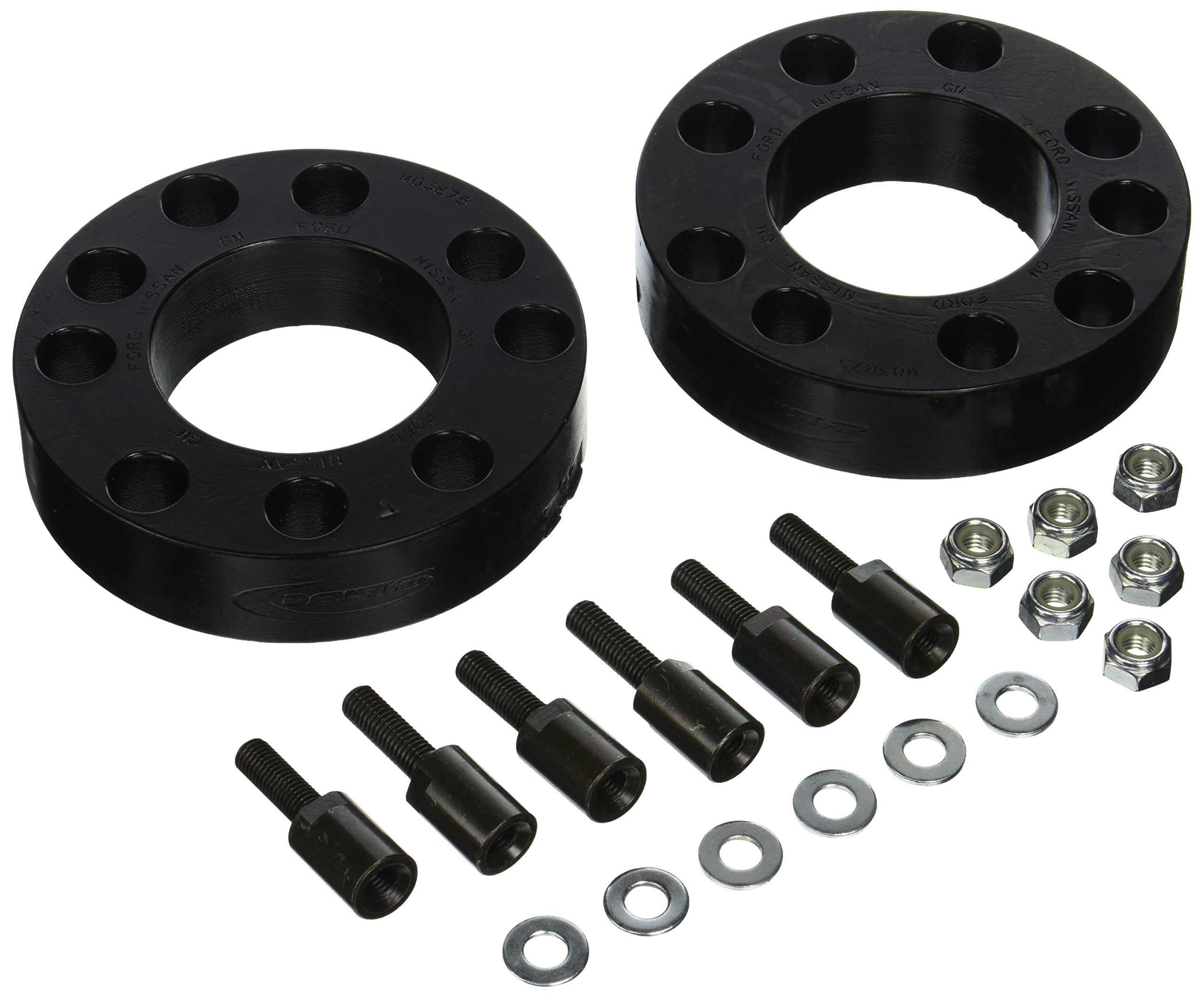 Daystar, Chevy/GMC 1500 Silverado 2'' Leveling Kit, fits 2014 to 2017 2/4WD, all transmissions, all cabs KG09129BK, Made in America