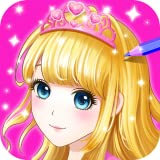 Princess Coloring book for Kids & Girls FREE Game