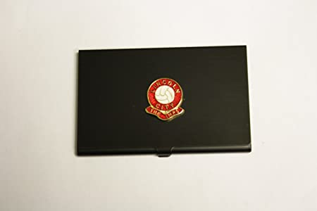 Football club black business card holder lincoln amazon football club black business card holder lincoln reheart Images