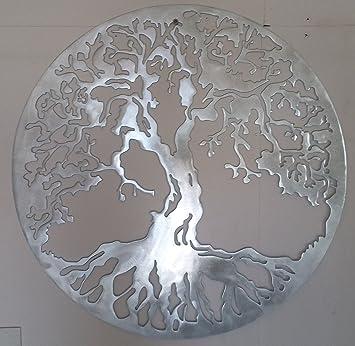 Metalartwalldecor Arbre De Vie Décoration Murale En Métal 597 Cm