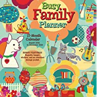 2019 Busy Family 18-Month Wall Calendar/Planner: by Sellers Publishing, 12x12 (CP-0486)