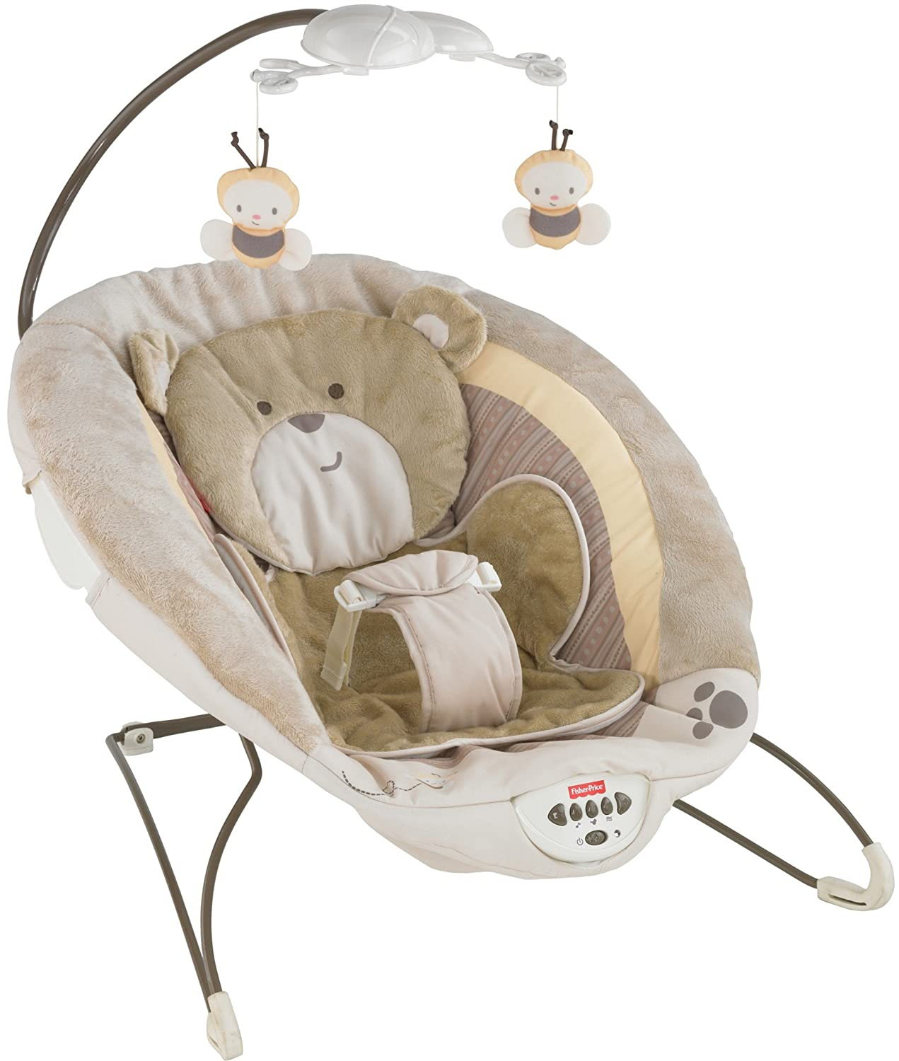 Fisher-Price Deluxe Bouncer, My Little Snugabunny V4650