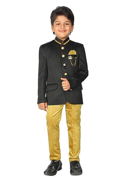 Amazon.com: ahhaaaa niños Jodhpuri indio étnico 2 PC fiesta ...