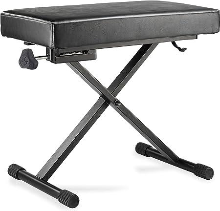 HERCULES STANDS KB200B - Soporte para teclado electrónico, color negro