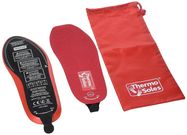Thermosoles Beheizbare Einlegesohlen Thermo Soles 3D mit Funkfernbedienung